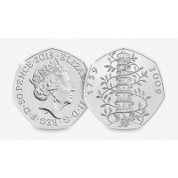2019 Kew Gardens 50p Brilliant Uncirculated
