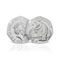 2019 The Gruffalo and Mouse 50p Brilliant Uncirculated Coin