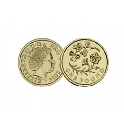 2014 Flax and Shamrock  £1 Bunc