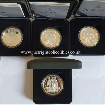2021 St. Helena Three Graces 1 Oz Silver Proof Coin