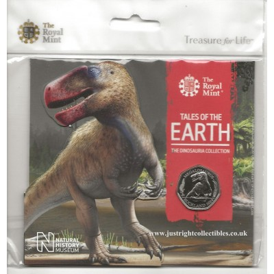 The Dinosauria Collection Megalosaurus 2020 UK 50p coin
