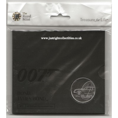 2020 James Bond UK £5 Coin Brilliant Uncirculated